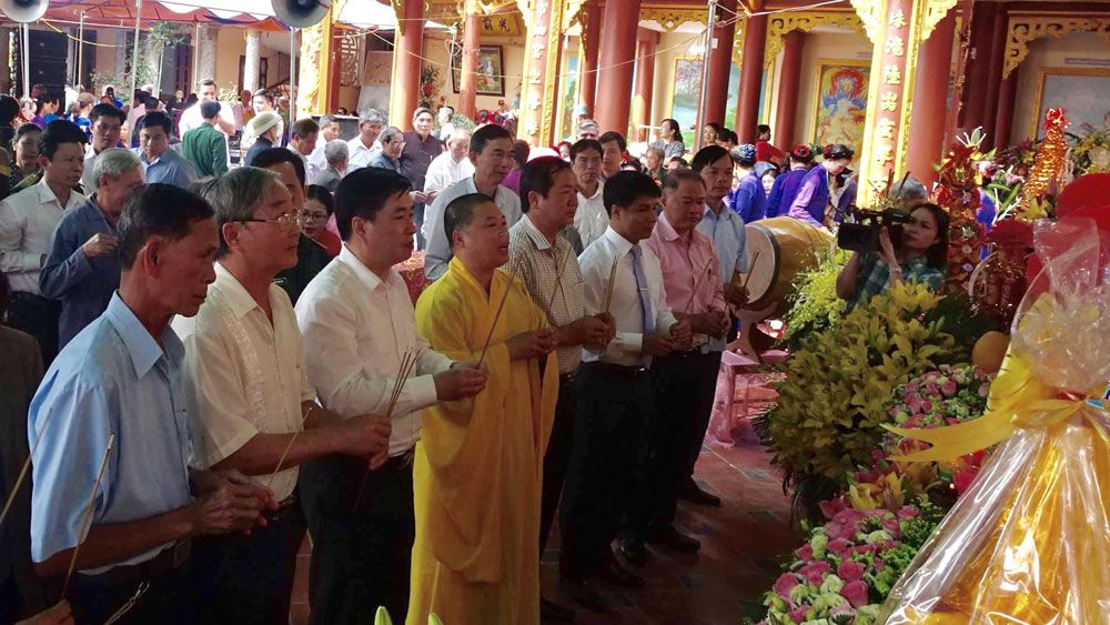 Lễ hội  đền- chùa Khánh Vân