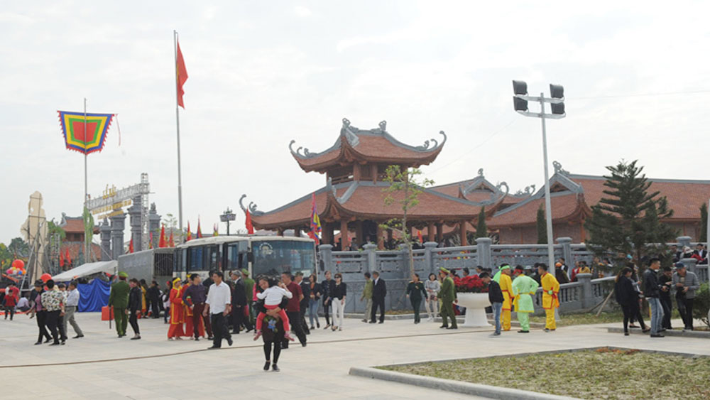 Art showroom built at Xuong Giang Victory Relic Site