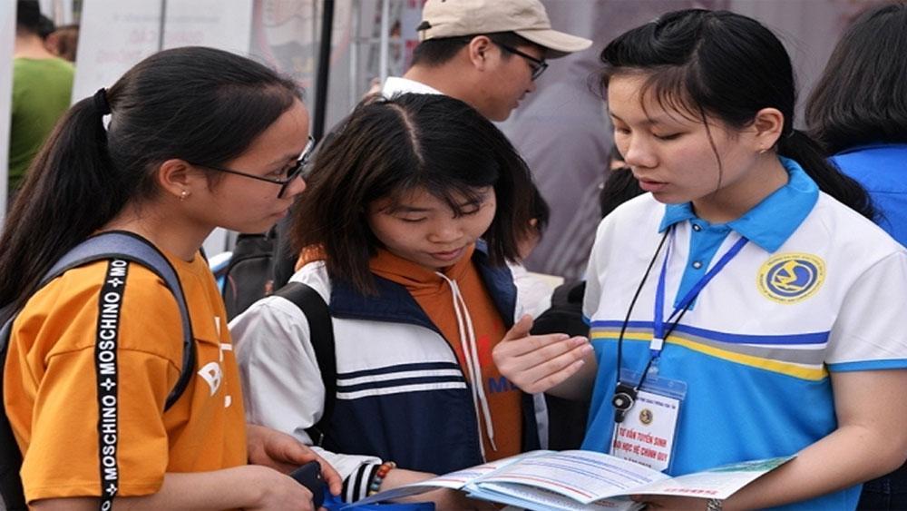 Hệ thống hỗ trợ thông tin thi và tuyển sinh năm 2018
