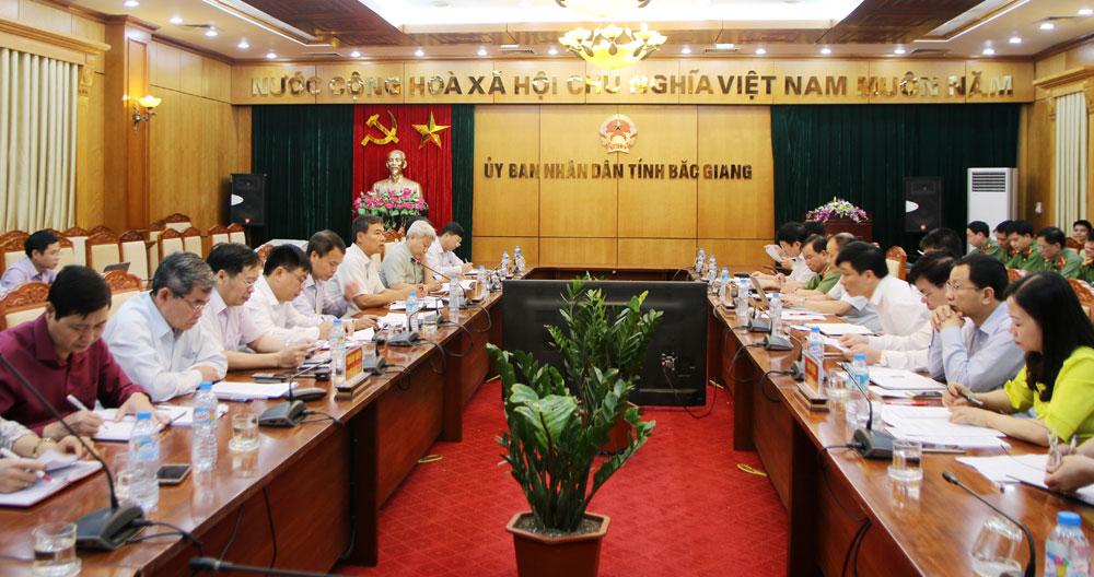 Bắc Giang, dự báo, tình hình, chủ động, ngăn ngừa,  tội phạm