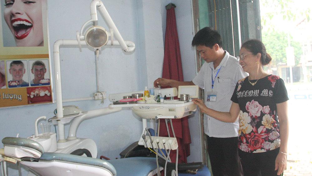 Hiệp Hòa chấn chỉnh hành nghề y dược tư nhân