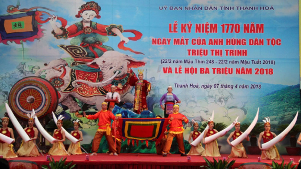 National heroine Lady Trieu remembered at Thanh Hoa festival