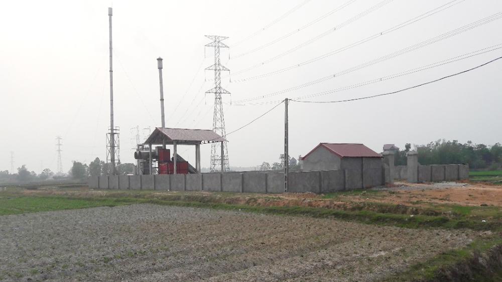 Gần 2 tỷ đồng đầu tư lò đốt rác tại xã Châu Minh