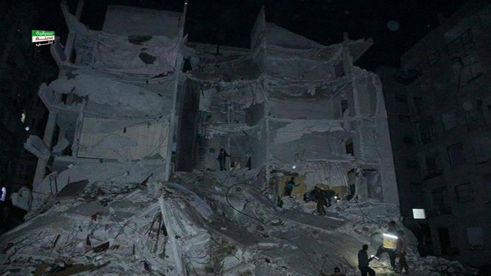 Syria: Nổ lớn làm sập nhà, hơn 90 người thương vong