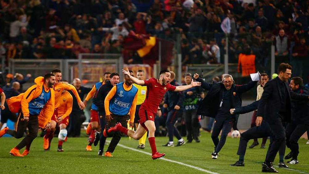 """Giành chiến thắng """"không tưởng"""", AS Roma hất cẳng Barca khỏi Champions League"""
