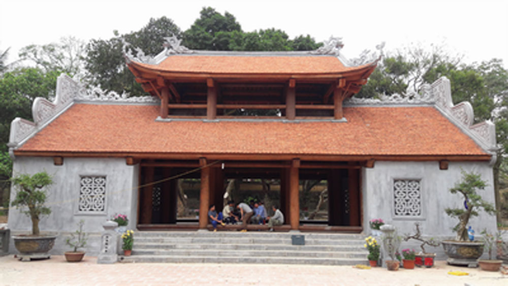 Đình chỉ thi công hạng mục cổng chùa Bổ Đà, Bắc Giang