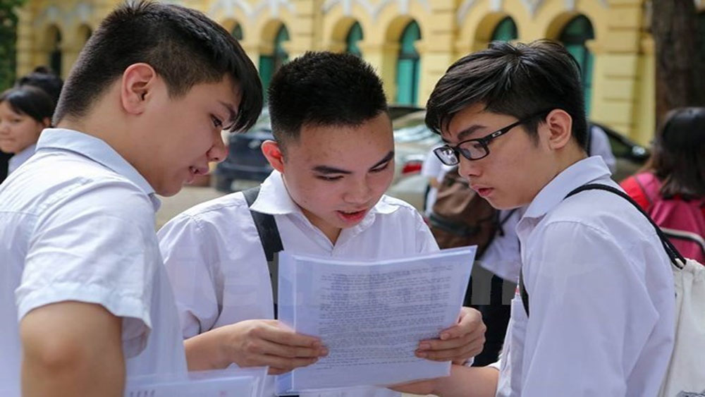Bộ Giáo dục khuyến cáo thí sinh cập nhật tuyển sinh tại cổng thông tin