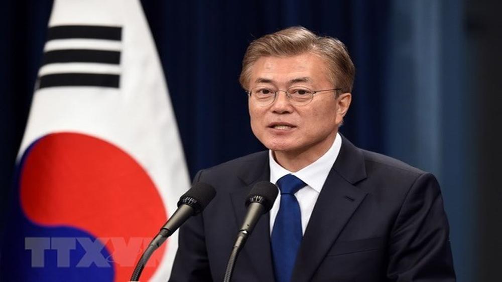 Tổng thống, Hàn Quốc, nỗ lực, cuộc gặp, liên Triều, thành công