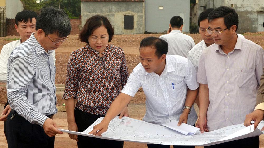 Tháo gỡ vướng mắc về mặt bằng các dự án khu đô thị, khu dân cư
