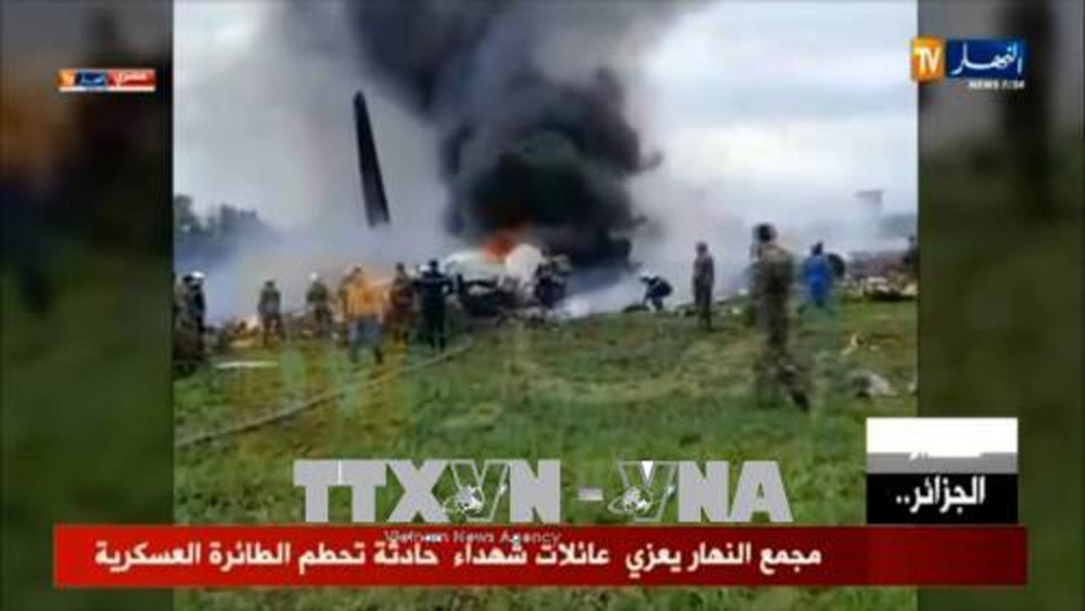 Algeria tổ chức quốc tang 3 ngày tưởng nhớ nạn nhân vụ rơi máy bay quân sự