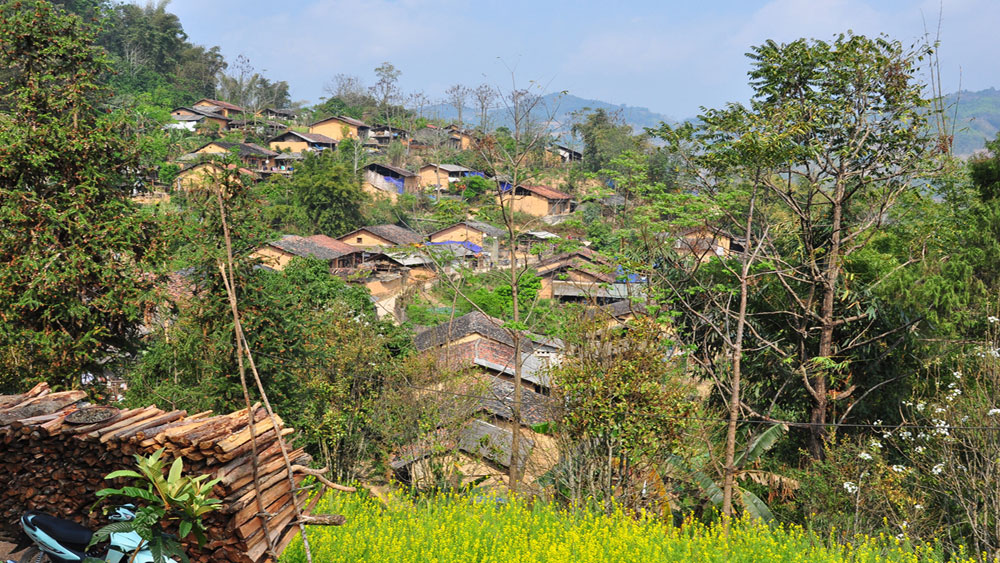 Heaven is a place on Vietnam's northern plateau