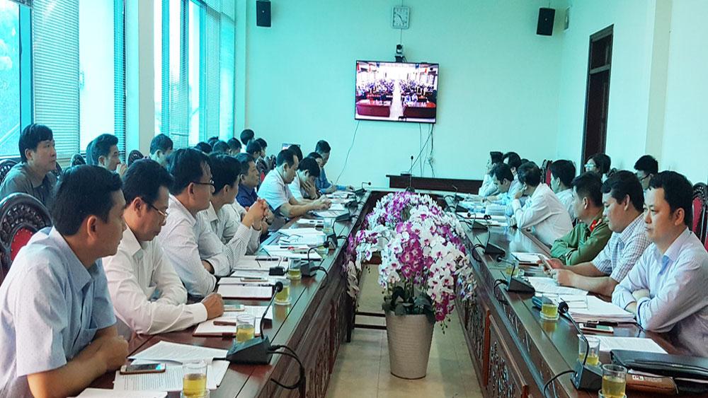 Huyện ủy Lạng Giang sơ kết một năm thực hiện Kết luận số 43