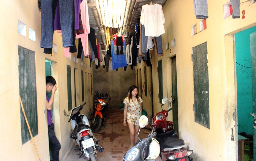 Huyện Việt Yên, khó quản lý,  thu thuế, nhà trọ