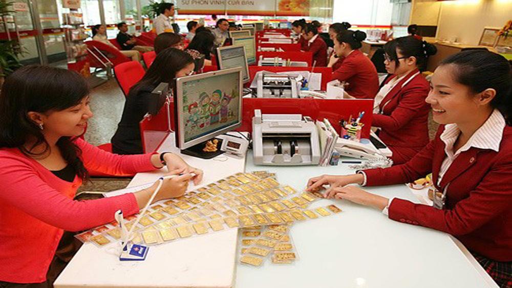 Đảo chiều, giá vàng SJC giảm 60.000 đồng theo đà của thế giới