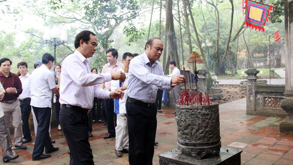 Lễ phạt mộc tòa thượng điện chùa Hạ Tây Yên Tử