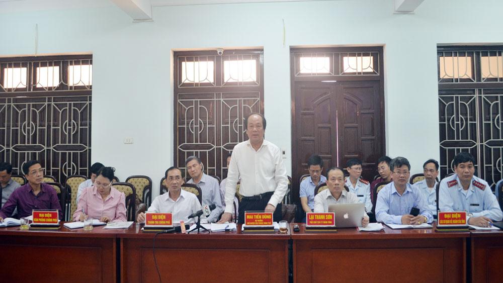 Những kiến nghị về dự án Khu đô thị phía Nam, phường Dĩnh Kế sẽ được rà soát xong trước 30-5-2018