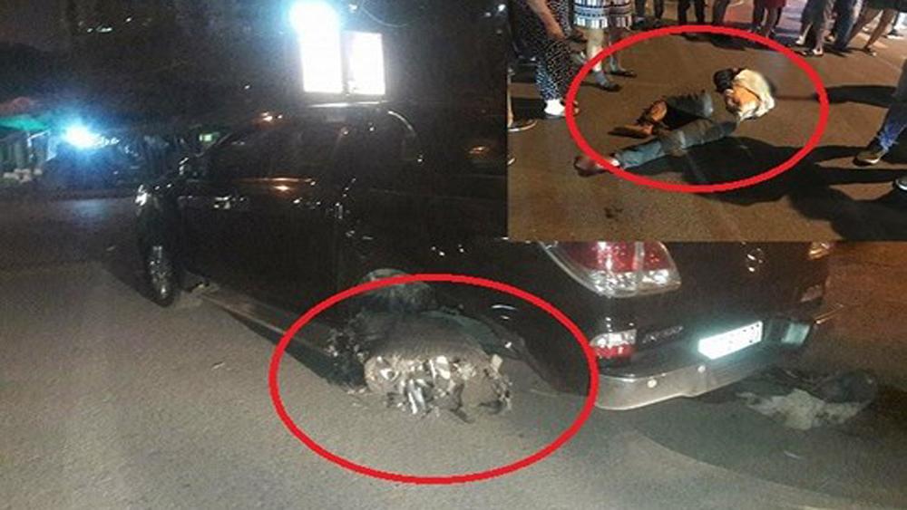Hà Nội: Bắt khẩn cấp lái xe ô tô kéo lê người và xe máy dưới gầm