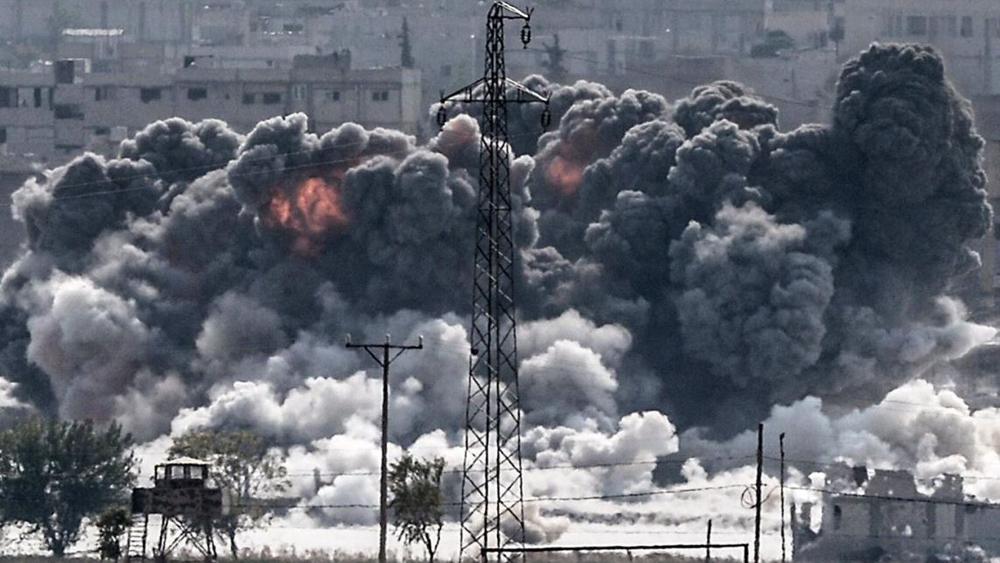 Mỹ, phối hợp, Anh, Pháp, phát động, tấn công, Syria