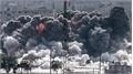 Mỹ đã phối hợp với Anh và Pháp phát động tấn công nhằm vào Syria