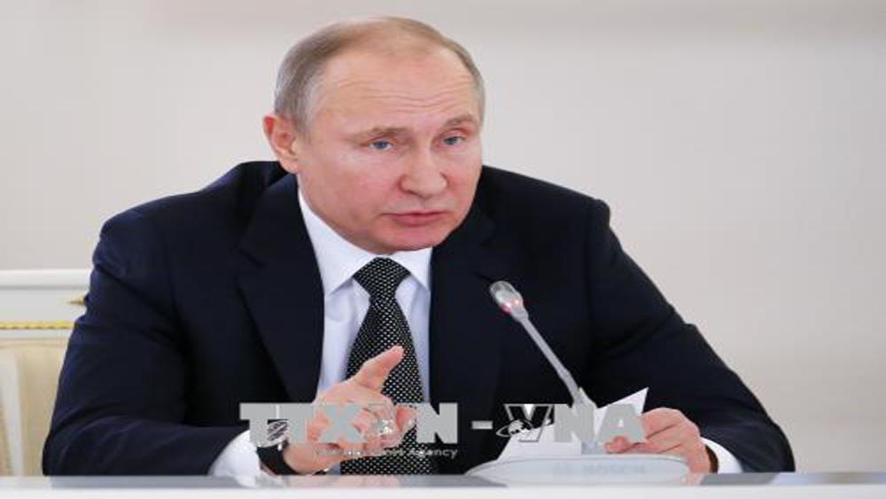 Tổng thống Nga Putin chỉ trích vụ Syria bị không kích là vi phạm Hiến chương Liên Hợp quốc