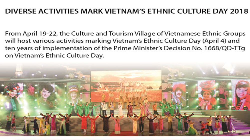 Diverse activities mark Vietnam's Ethnic Culture Day 2018