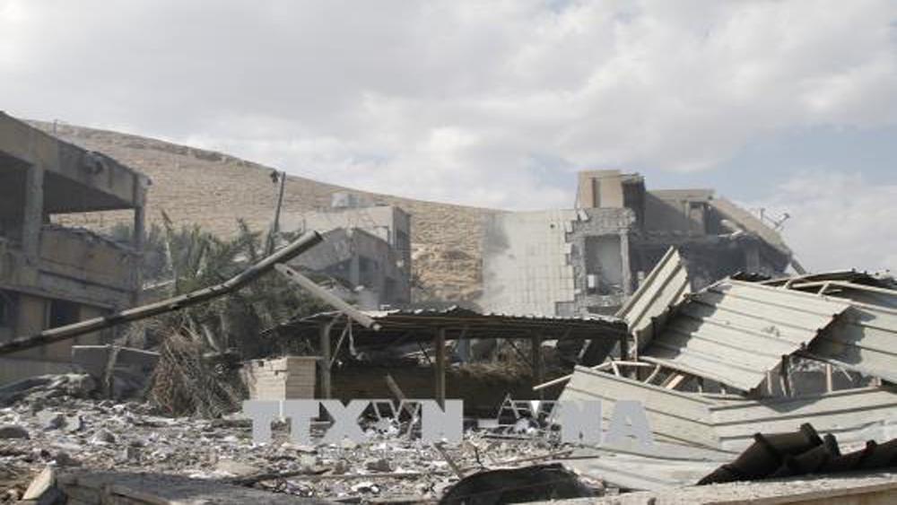Mỹ, Anh, Pháp, đề nghị, HĐBA LHQ, điều tra, tấn công, sử dụng, vũ khí hóa học, Syria
