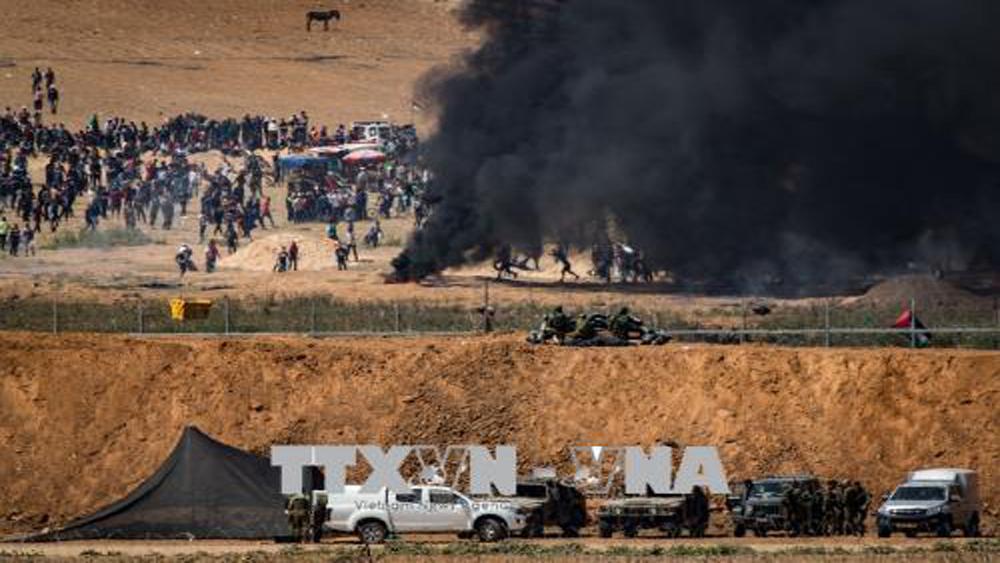 Bạo lực tiếp tục leo thang tại Gaza, thêm 4 người Palestine thiệt mạng