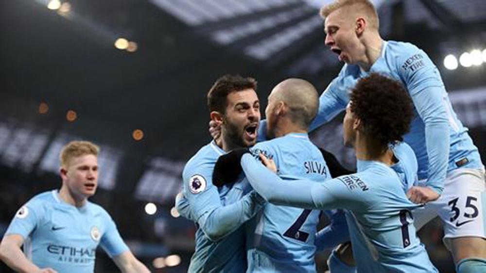 Vô địch, sớm, muộn, 5 vòng, Man City, kỷ lục, M.U
