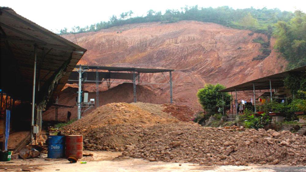 Doanh nghiệp trốn cấp phép vùng nguyên liệu: Thất thoát tài nguyên