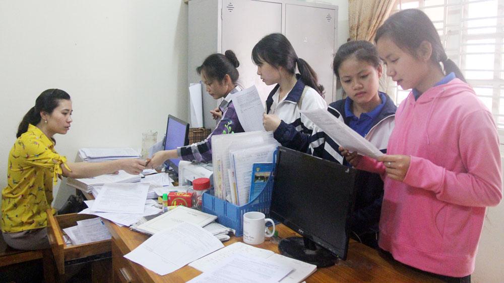 Bắc Giang, Hướng dẫn,  thí sinh,  hoàn thành,  hồ sơ thi THPT,  quốc gia 2018