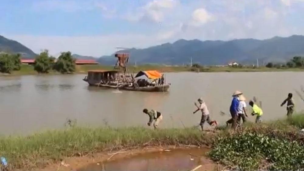 Phê bình chủ tịch UBND 6 xã để xảy ra tình trạng khai thác khoáng sản trái phép