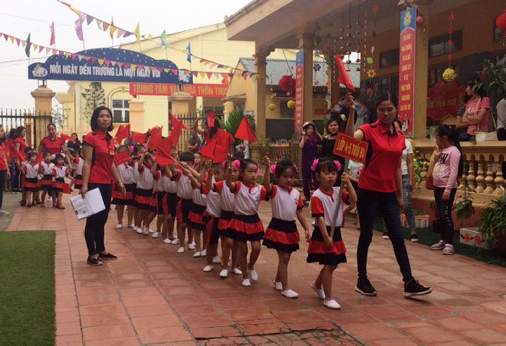 Việt Yên, ngày hội, học sinh, thể thao