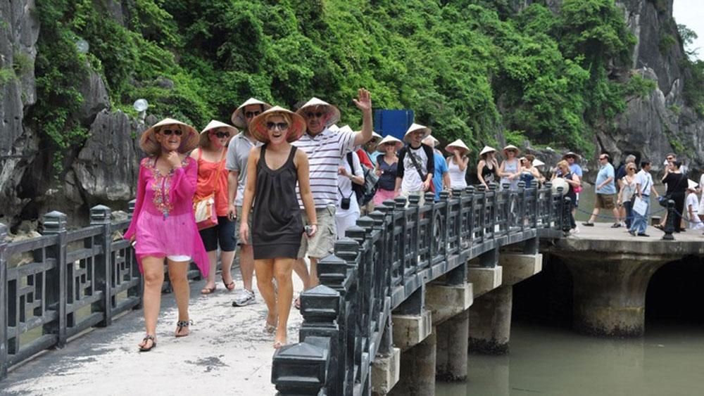 Ấn tượng về số du khách quốc tế đến Việt Nam quý I/2018
