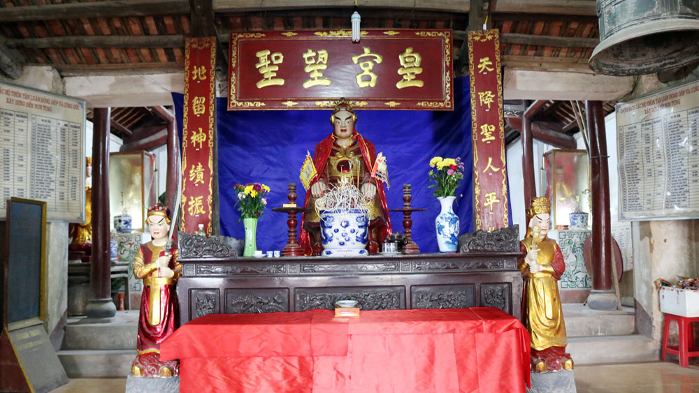 Non Tung Temple, Saint Giong, Bac Giang province, historical and cultural values, unique customs, Phu Dong Thien Vuong, Four Immortals, folk beliefs, mythical hero, fine cultural values