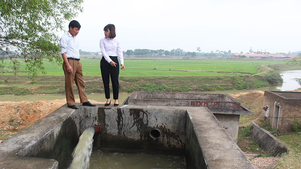 Chấn chỉnh hoạt động của hợp tác xã dùng nước