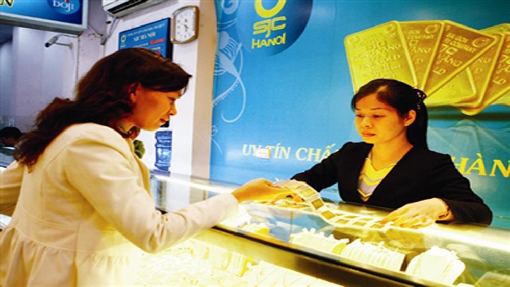Tăng giá, thương hiệu vàng Rồng Thăng Long lên 37,29 triệu đồng