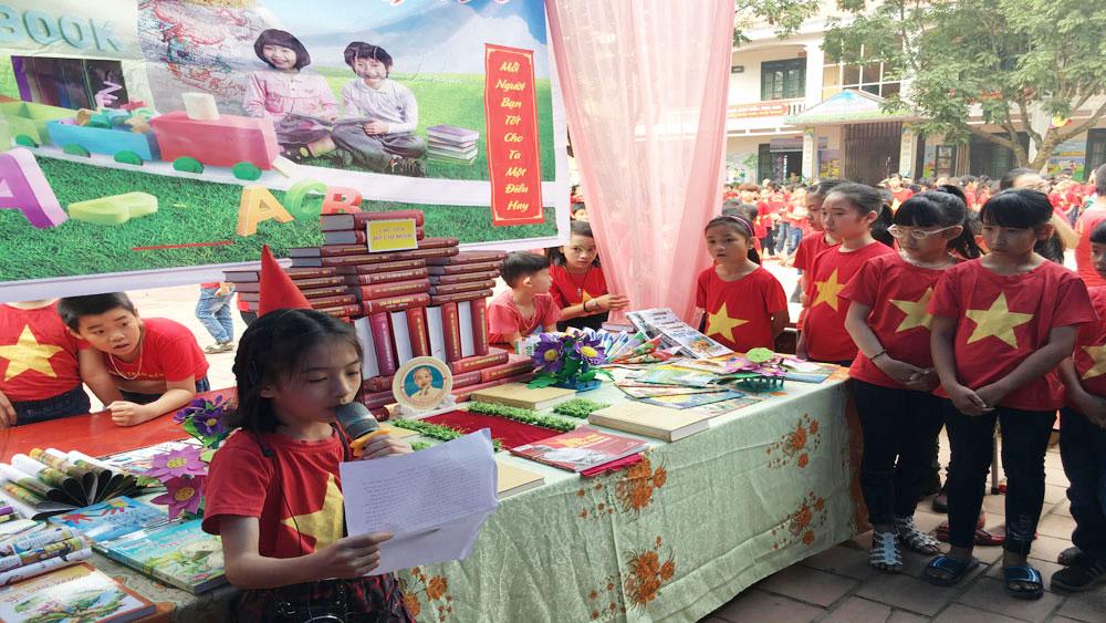 Ngày hội đọc sách cho học sinh tiểu học