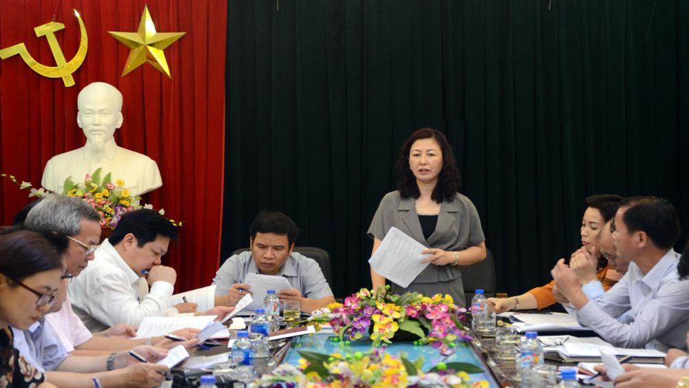 Ủy ban Kiểm tra Tỉnh ủy góp ý kiến vào Quy định xử lý kỷ luật tổ chức đảng