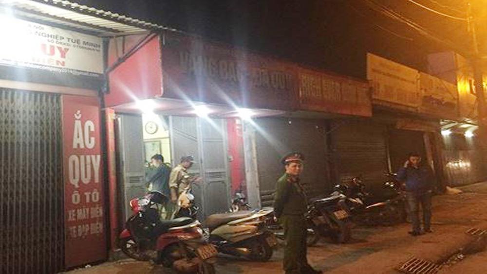 Hà Nội: Bắt giữ đối tượng cướp tiệm vàng trong đêm
