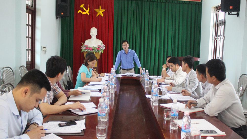 Giám sát việc quản lý quy hoạch, kế hoạch sử dụng đất tại các xã Cảnh Thụy và Tiền Phong