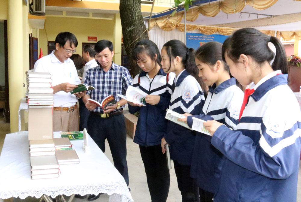 Việt yên, khai mạc, ngày sách