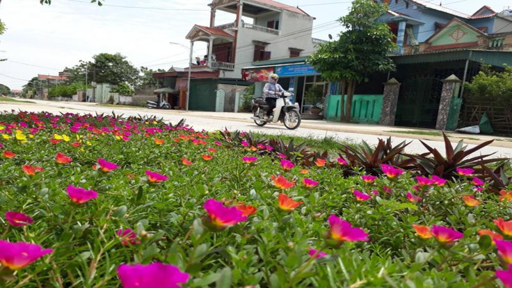 Hội LHPN huyện Lạng Giang phấn đấu trồng hơn 20km đường hoa