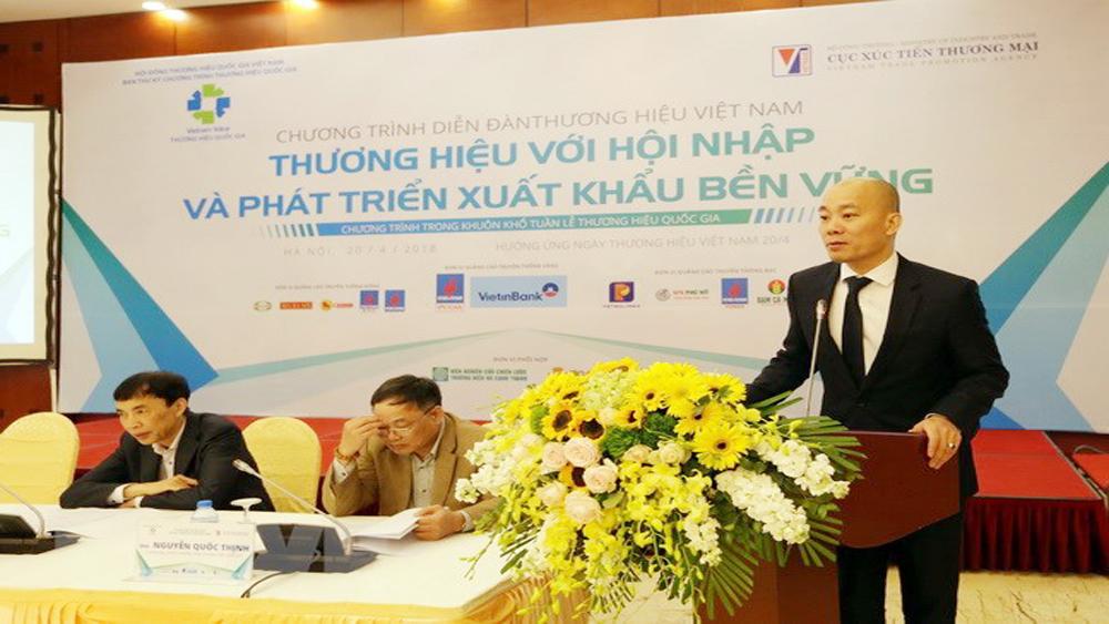 Thương hiệu quốc gia: Tăng sức cạnh tranh trong hội nhập