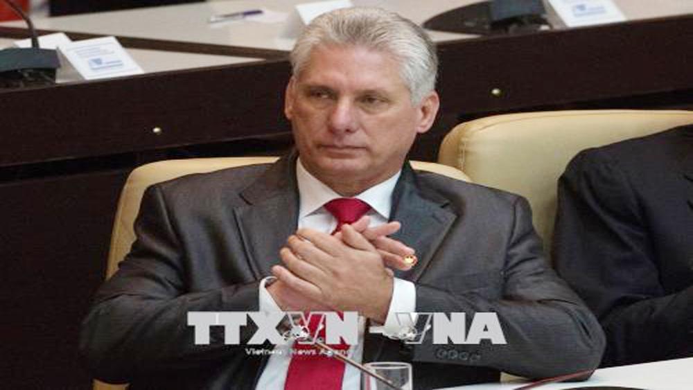 Điện mừng Chủ tịch Hội đồng Nhà nước và Hội đồng Bộ trưởng Cuba