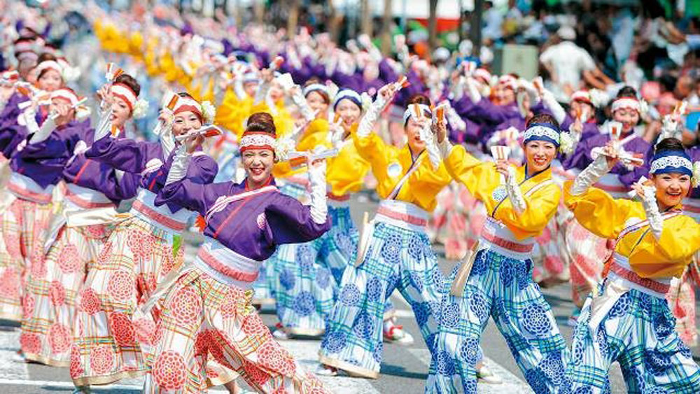 Japanese artists to perform Yosakoi dance at Hanoi's walking area