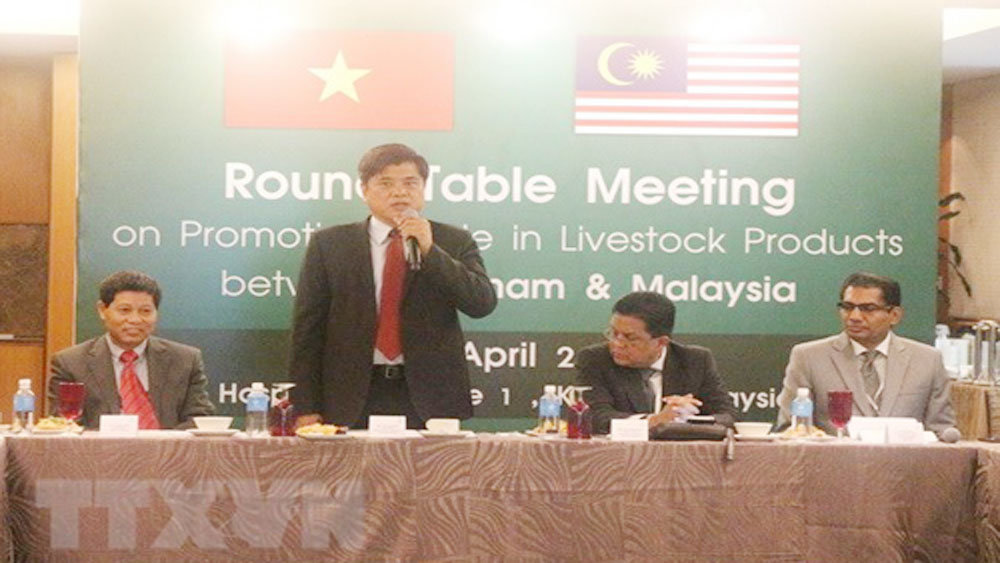 Vietnam, Malaysia seek to boost trade in livestock products