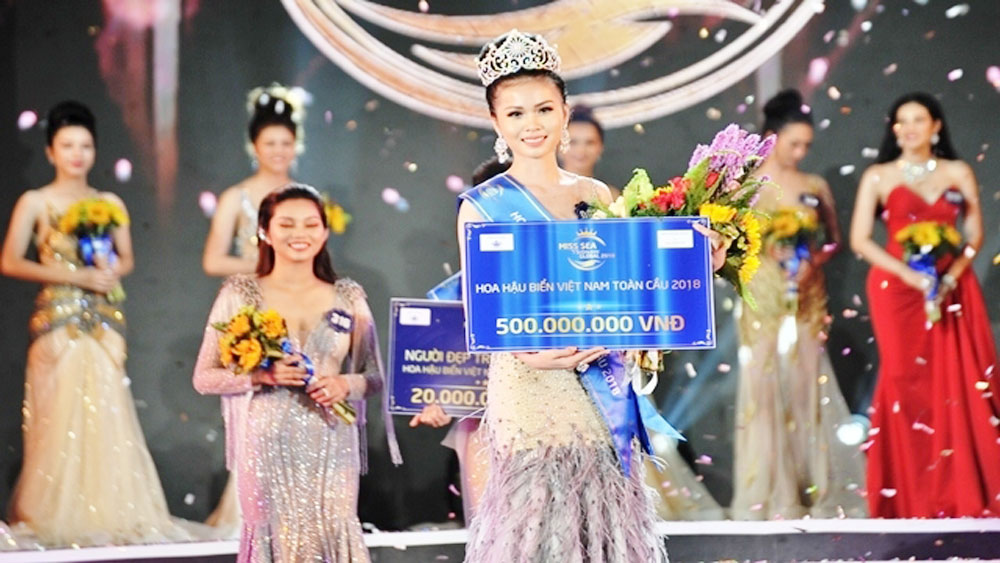Nguyen Thi Kim Ngoc crowned Miss Sea Vietnam Global 2018