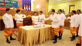 Ông Say Chhum tái đắc cử Chủ tịch Thượng viện Campuchia khoá IV