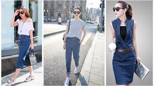 Khởi động hè với đồ Jeans