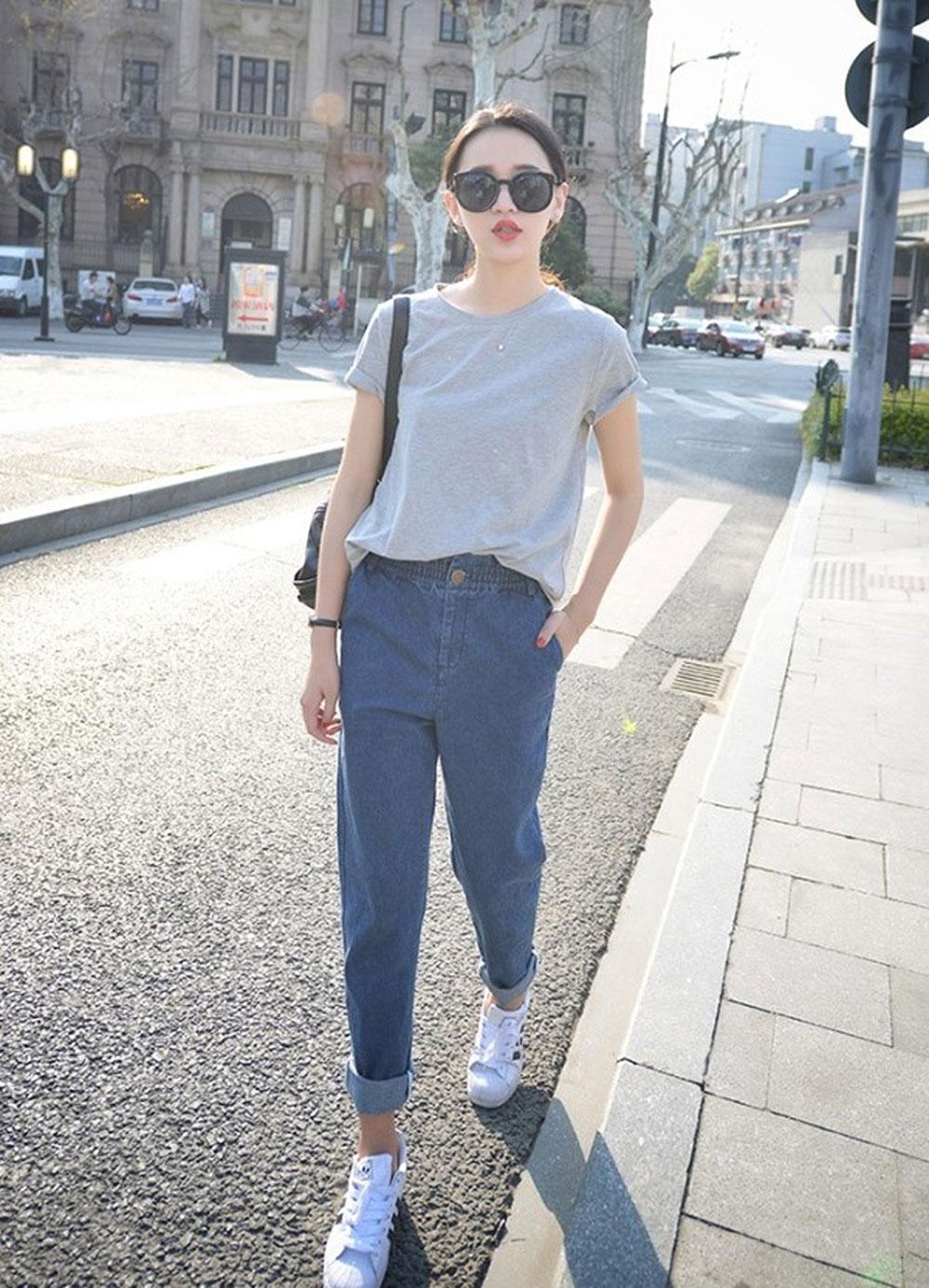 Khởi động, hè, đồ Jeans, thời trang